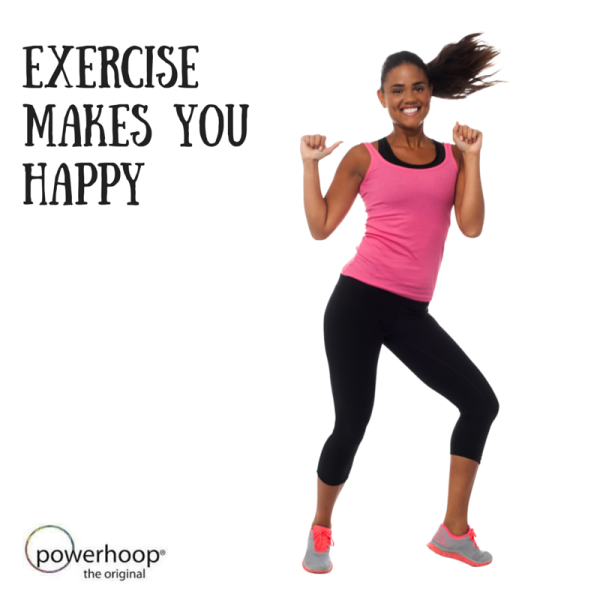 6 Reasons Why Exercise Will Make You Happier Powerhoop Nz